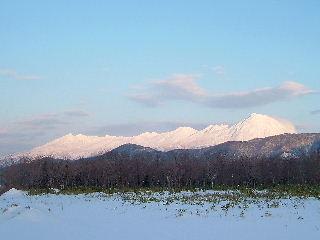 連山冬景色